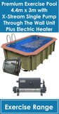 Exercise Pool with XStream Single Plus Electric Heater