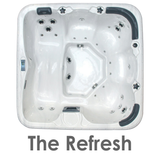 The Refresh 5 Person Tub