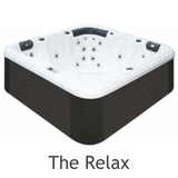 the relax hot tub passion spas