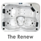 The Renew 3 Person Hot Tub