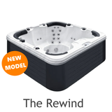 The Rewind 7 seater hot tub Passion Spas