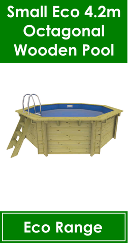 Small Eco Wooden Pool