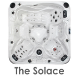 The Solace 5 seater spa
