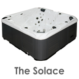 The Solace 5 seater hot tub