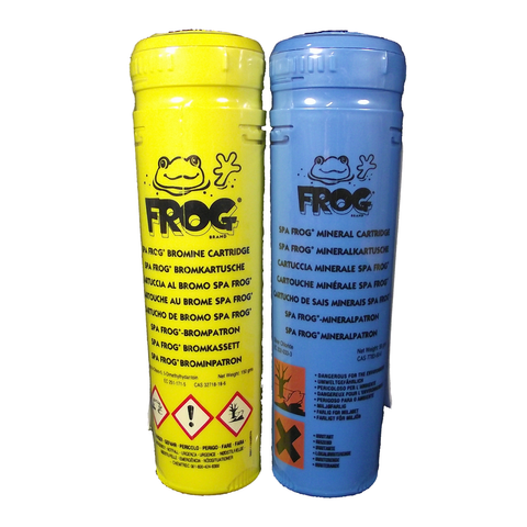 Spa Frog Mineral and Bromine Cartridges
