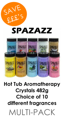 Hot Tub Spa Aromatherapy Crystals 482g (Twin or Four Pack)