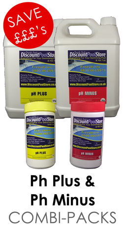 pH Plus & pH Minus Combi Packs