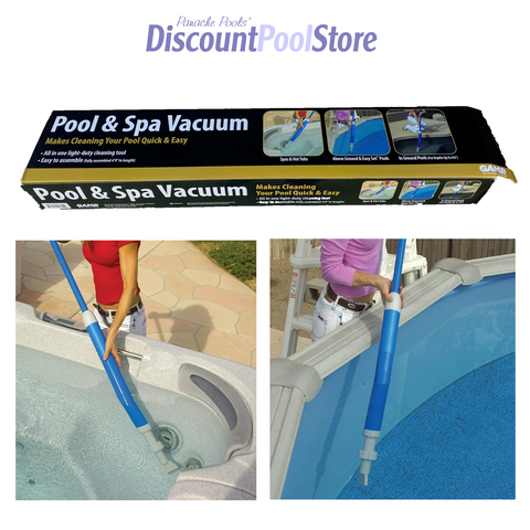 GAME Pool & Spa Vacuum