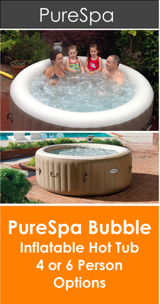 Intex Purespa Bubble Inflatable Hot Tub Pure Spa Panache