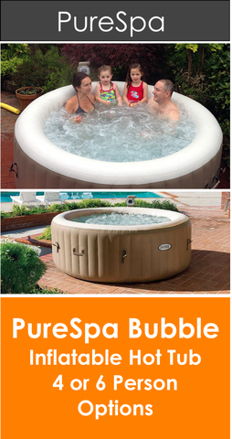 PureSpa Bubble Inflatable Hot Tub