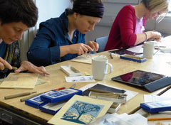 Printing classes for adults at Northern Print