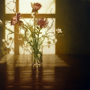 Anja Percival. Etching: Window Light XV