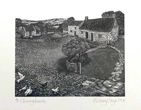 Hilary Paynter Wood Engraving: Cherryburn