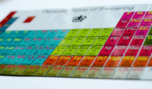 Periodic Table of Swearing Magnets