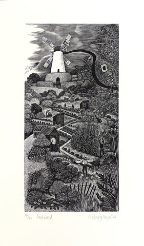 Hilary Paynter Wood Engraving: Fulwell