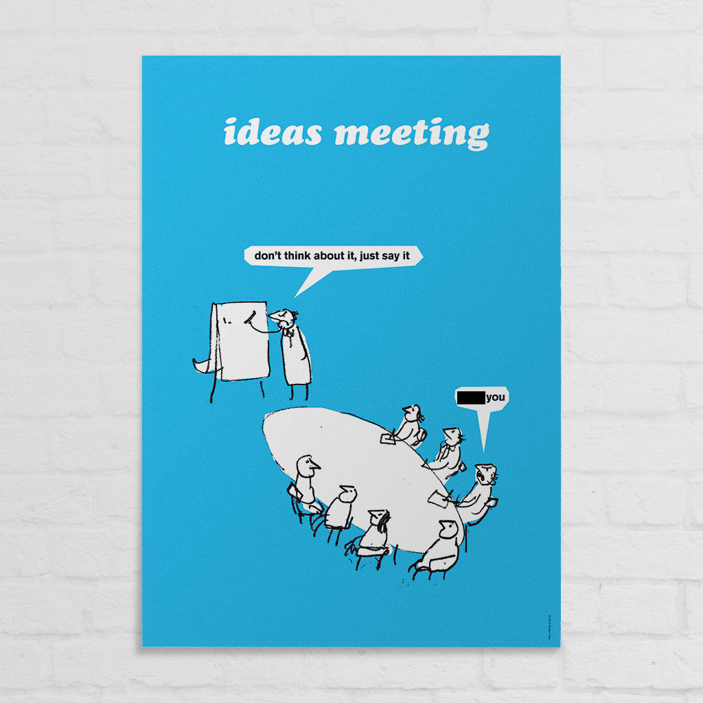 SALE Ideas Meeting Poster