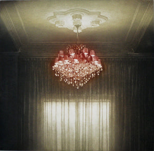 Anja Percival. Etching: Interior Light IV