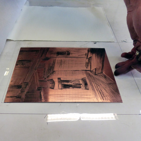 Drypoint on Metal (half day)