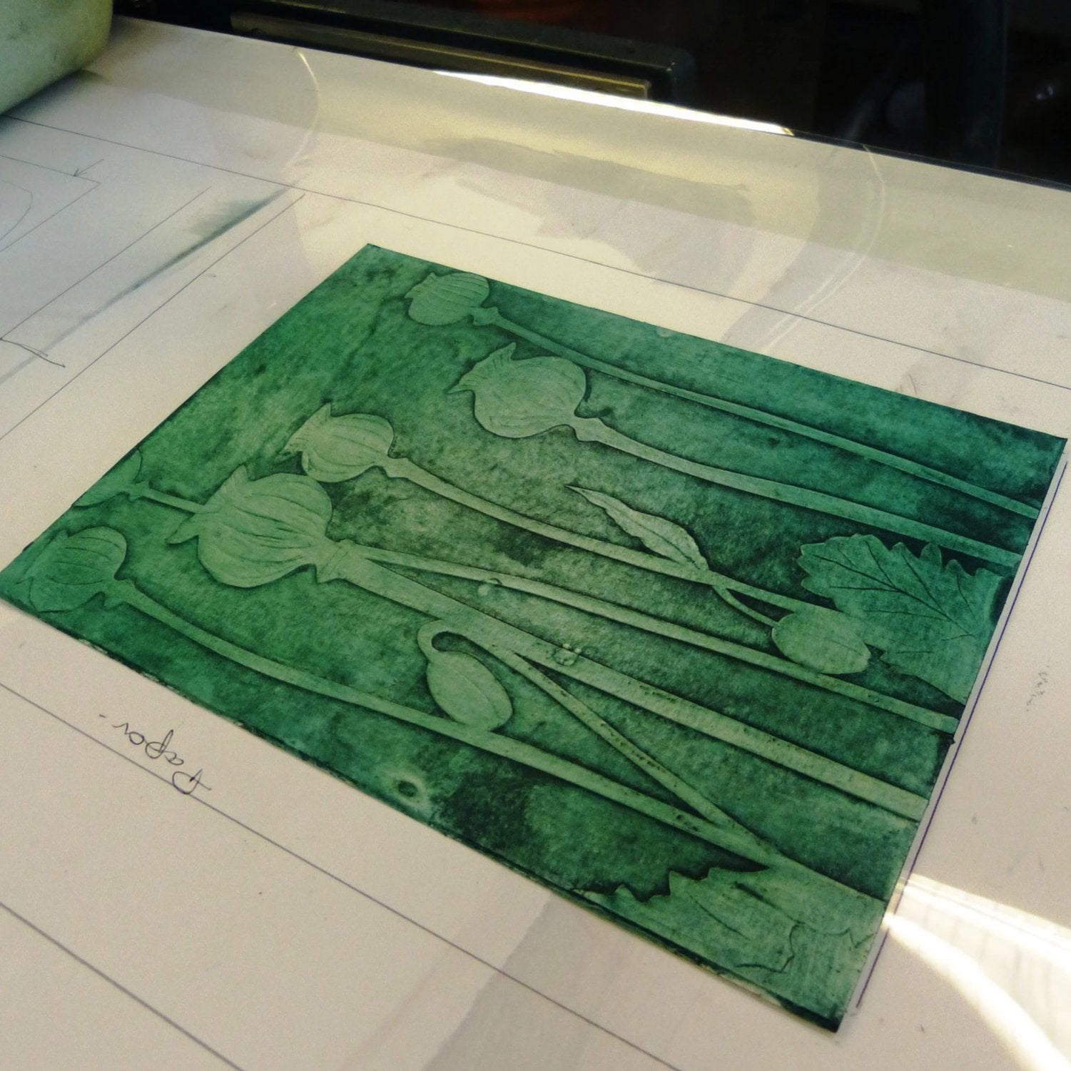 Collagraph & Carborundum: Two Evening Course