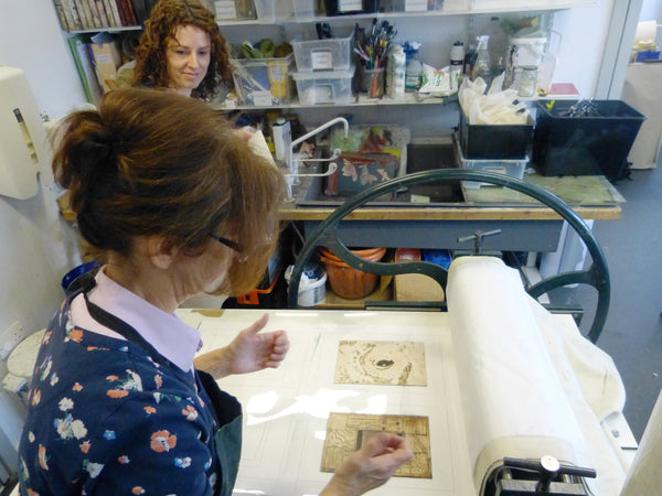 Drypoint on Metal : Short course (Optional Stay & Play)