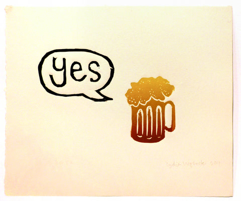 Lydia Wysocki: Yes Beer