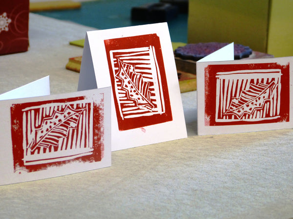 Christmas Printmaking