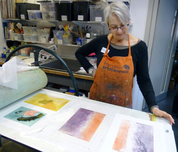 Monoprint: Short Course (Optional Stay & Play)