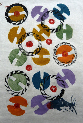 Hand Printed Textile Short Course (Stay & Play)
