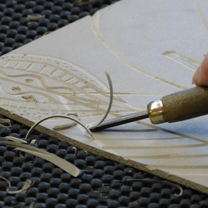 Linocut: Short Course (Optional Stay & Play)