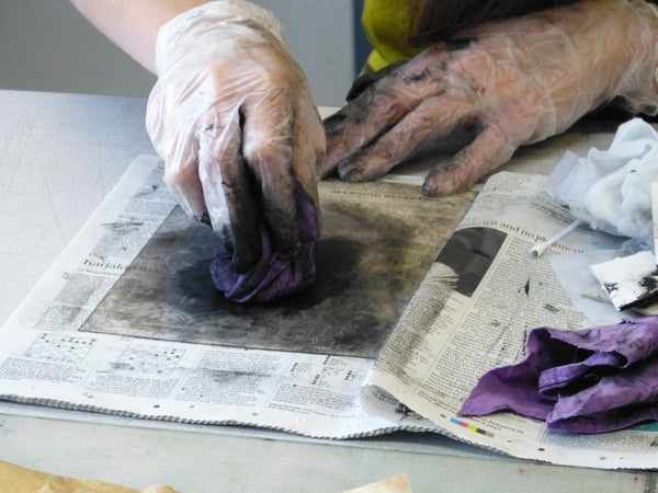 Introduction to Printmaking: 3-Mornings Course (Optional Stay & Play)