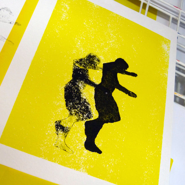 Screenprint with Handcut Stencils (half day)