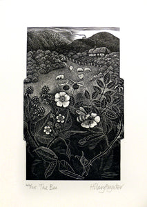 Hilary Paynter Wood Engraving: The Bee