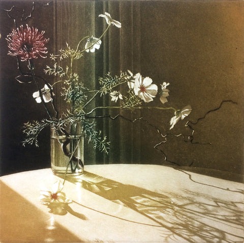 Anja Percival. Etching: Window Light XVIII