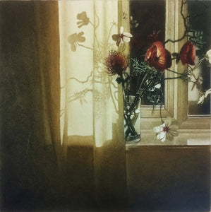 Anja Percival. Etching: Window Light XVII