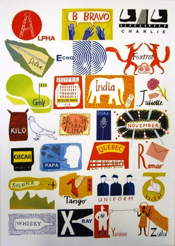 Laura Knight: International Phonetic Alphabet Poster