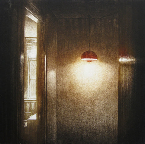 Anja Percival. Etching: Interior Light III
