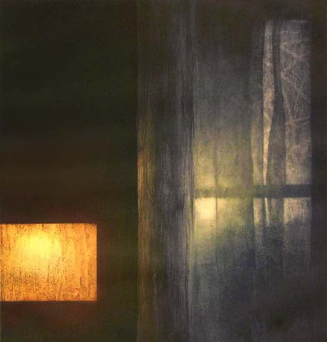 Anja Percival. Etching: Interior Light I