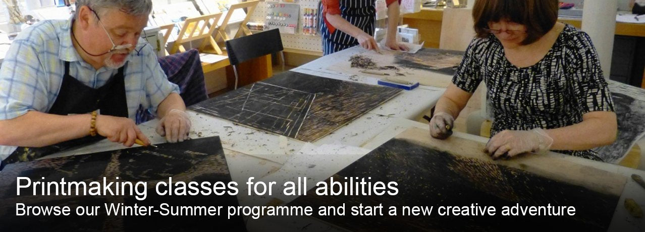 Printmaking classes for all abilities