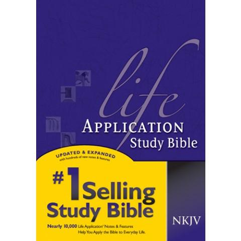 NKJV Life Application Study Bible (Hardcover) Study Bible - New Chapter Bookstore