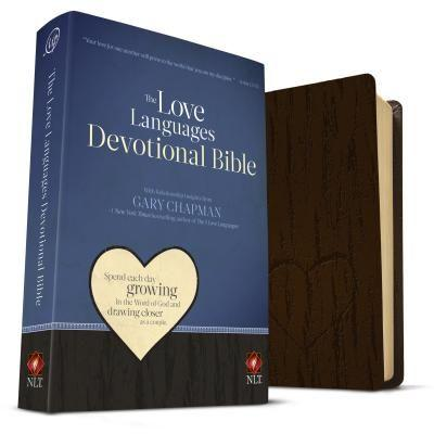 NLT The Love Languages Devotional Bible Im Brown (Imitation Leather) Speciality Bible