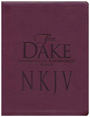 Dake's Annotated Reference Bible(NKJV) Imitation Leather Burgundy - Finis J Dake