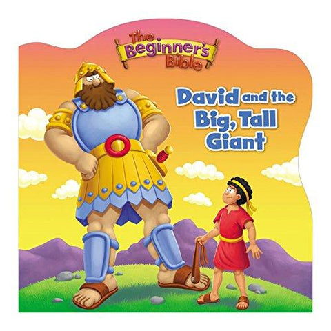 The Beginner's Bible David and the Big, Tall Giant Board book