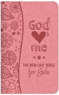 NlV God Hearts Me For Girls (Flex Cover) Speciality Bible