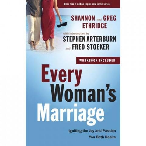 Every Woman's Marriage (The Every Man Series)(Paperback) Shannon Ethridge & Stephen Arterburn