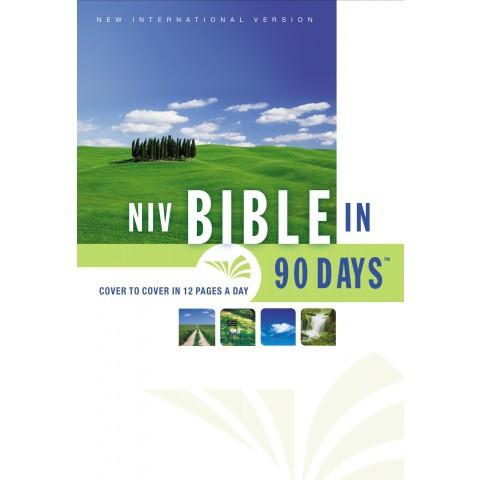 NIV Bible In 90 Days (Hardcover) Speciality Bible - New Chapter Bookstore