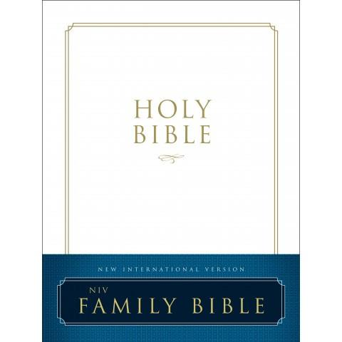 NIV Family Bible (Hardcover) Speciality Bible