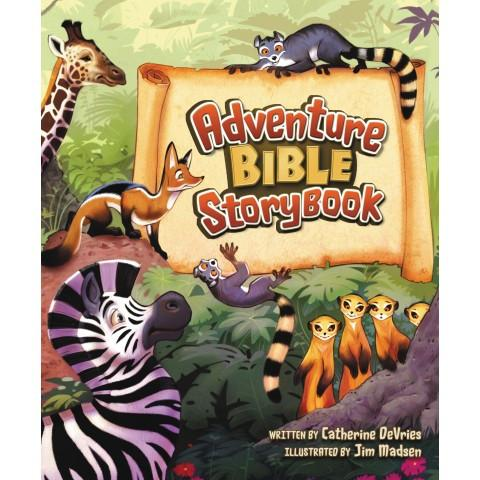 Adventure Bible Storybook (Hardcover) Catherine Devries