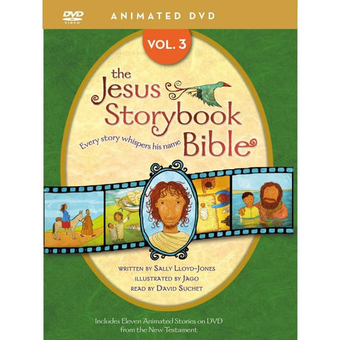 The Jesus Storybook Bible Animated Volume 3 DVD - Sally Lloyd-Jones - New Chapter Bookstore
