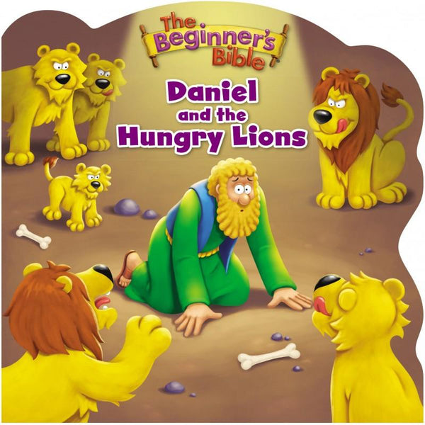 The Beginners Bible Daniel And The Hungry Lions (Board Book)