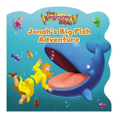 Beginners Bible Jonah's Big Fish Adventure (Hardcover)